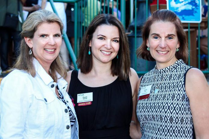 Paula recently finished her second term on the board of the Women's Business Network of Peterborough (WBN). Here she is pictured with WBN members Mary McGee and Lorie Gill. (Photo: WBN)