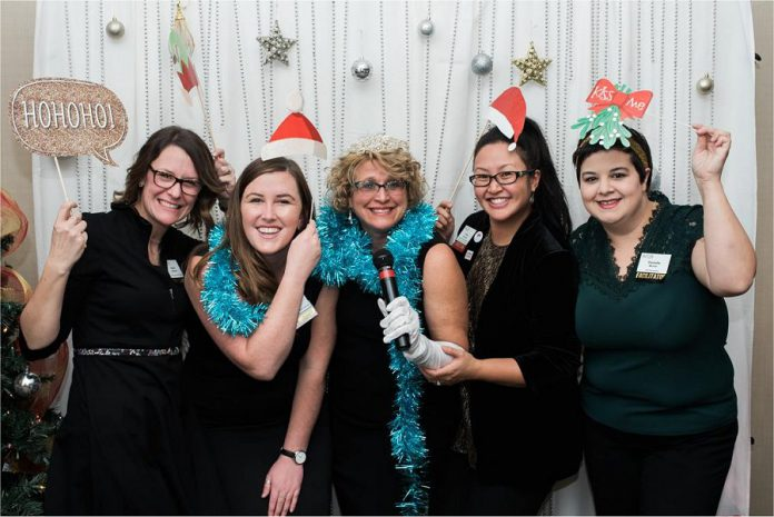 WBN members celebrating the holiday season. (Photo: WBN)
