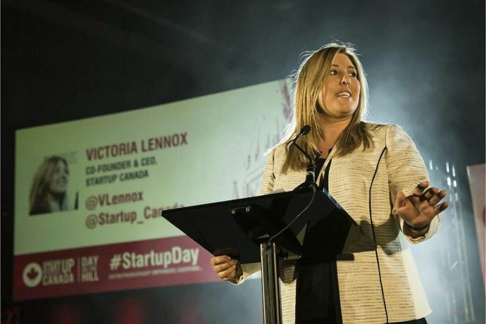 Victoria Lennox, co-founder and CEO of Startup Canada, will share her entrepreneurial story as the guest speaker at the April 2019 meeting of the Women's Business Network of Peterborough (WBN). Victoria is only one of a series of inspiring and high-quality speakers during WBN's 2018-19 season. (Photo: Startup Canada)
