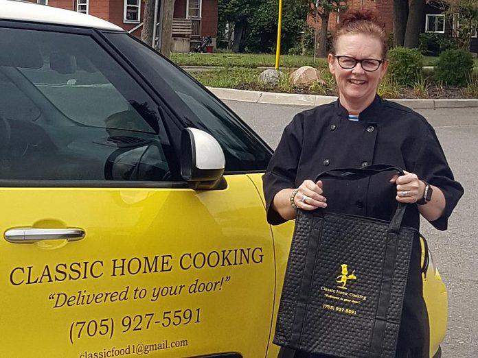 As well as That's A Wrap Catering, Tracey runs Classic Cooking, a meal delivery service that delivers tasty, good-for-you home-cooked meals in the Peterborough area. (Supplied photo)