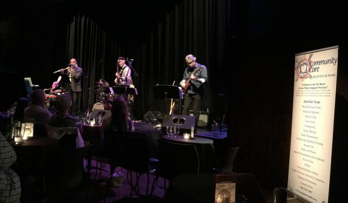 At its September 2017 benefit concert at the Market Hall, Zing raised $1,400 for Community Care Peterborough while bringing increased awareness to the organization's mandate to provide essential services to seniors and physically challenged adults to allow them to stay in their homes. (Photo: Dean Ostrander)