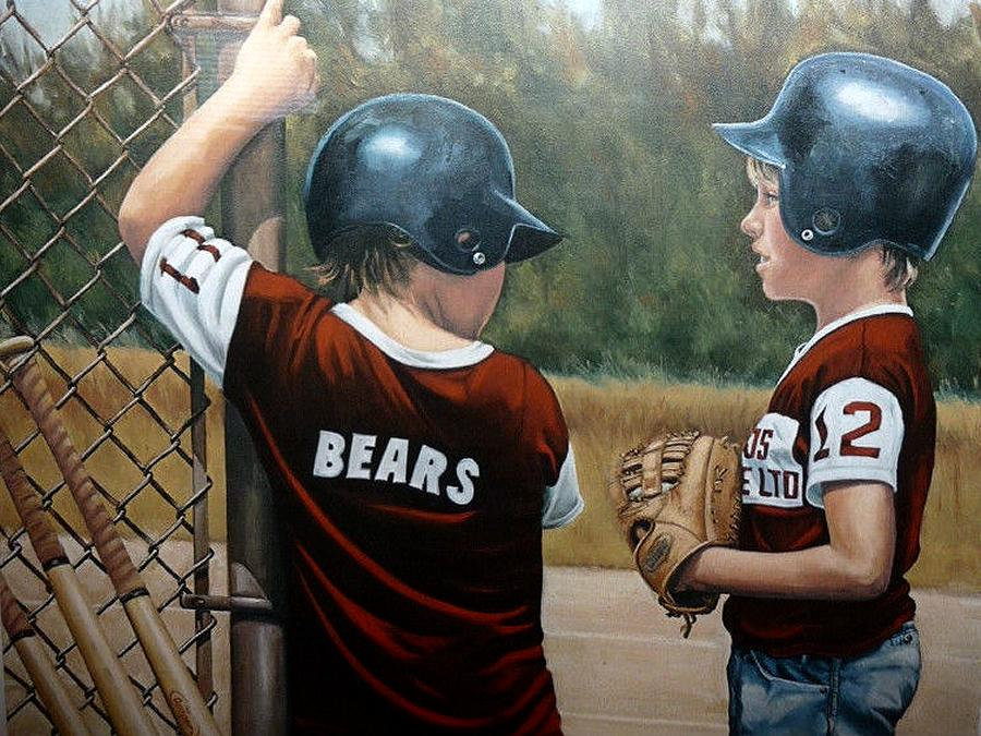 "The Founders Art Show at Art School of Peterborough (September 7 to 28, 2018) will include works by co-founder Richard Hayman. Pictured is a detail from Hayman's  ""Baby Bears"" (1986)."