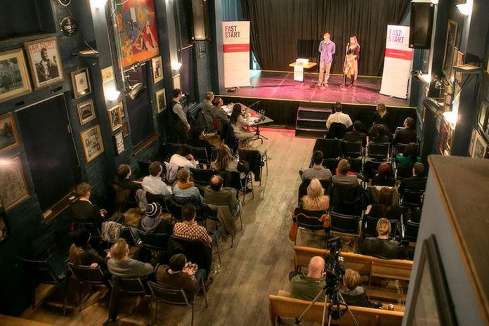 Young entrepreneurs in Peterborough and the Kawarthas will pitch their business to a panel of judges at the Gordon Best Theatre in downtown Peterborough on November 22, 2018 during the fourth annual Cubs' Lair entrepreneurship competition, with a prize package valued up to $10,00. (Photo courtesy of the Innovation Cluster)