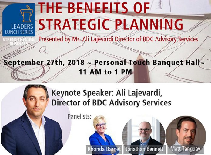 Leaders Lunch Series on Strategic Planning