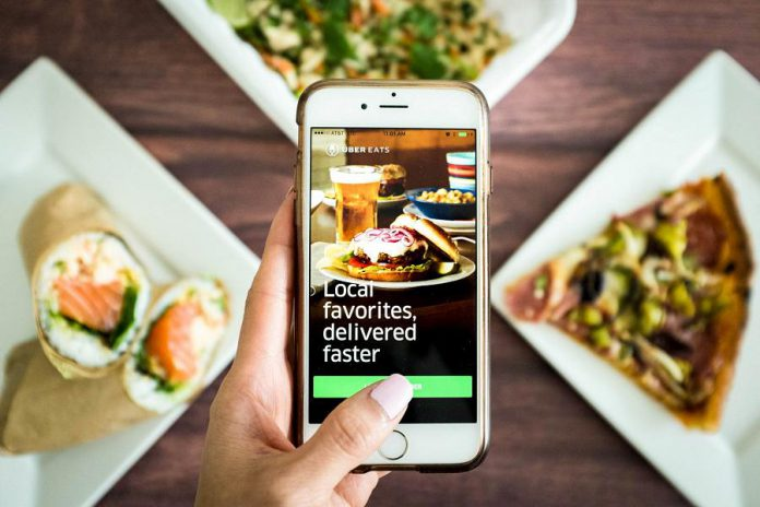 Uber Eats food delivery service is now available in Peterborough at 15 fast food chains and restaurants with more to come. (Photo: Uber Eats)