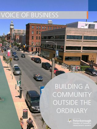 The Peterborough Chamber of Commerce's 'Building a Community Outside the Ordinary' platform. (Photo: Peterborough Chamber of Commerce)