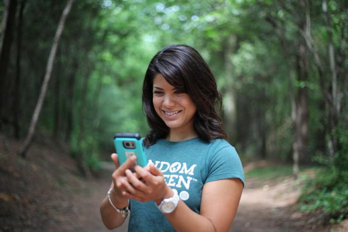 Jessica Correa, founder and CEO of social enterprise Random Acts of Green, is launching the company's new mobile app in early October. (Photo: Random Acts of Green)