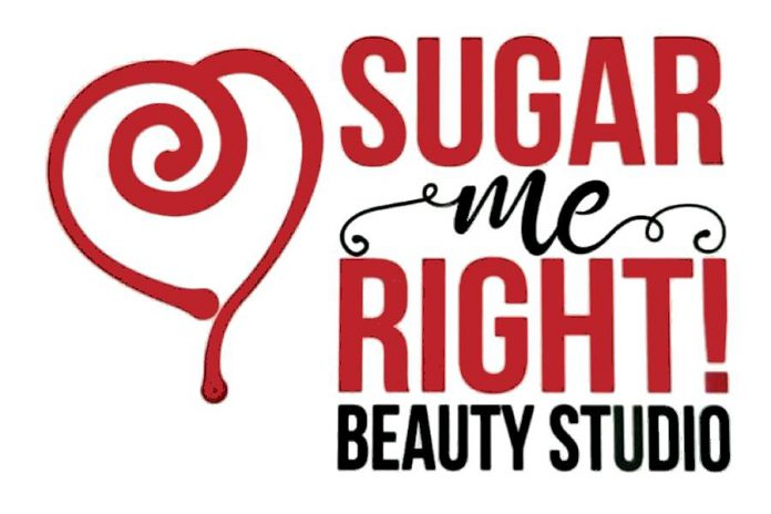 Sugar Me Right! Beauty Studio recently revealed new signage with its new brand at its location at  161 Sherbrooke Street in downtown Peterborough. (Logo designed by Mega Experience)
