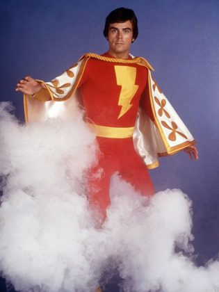 """Jackson Bostwick performed as Captain Marvel until he was fired from the role. The ratings of """"Shazam!"""" plummeted and the series was cancelled after 11 episodes without him.  Bostwick sued Filmation Studios and won the case for wrongful dismissal. (Publicity photo)"""