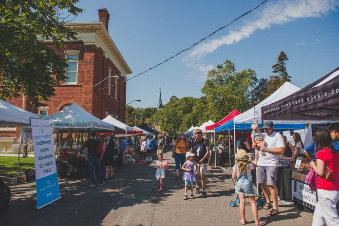 The Cultivate festival weekend takes place at Memorial Park in downtown Port Hope from from September 21 to 23, 2018. (Photo: Cultivate)