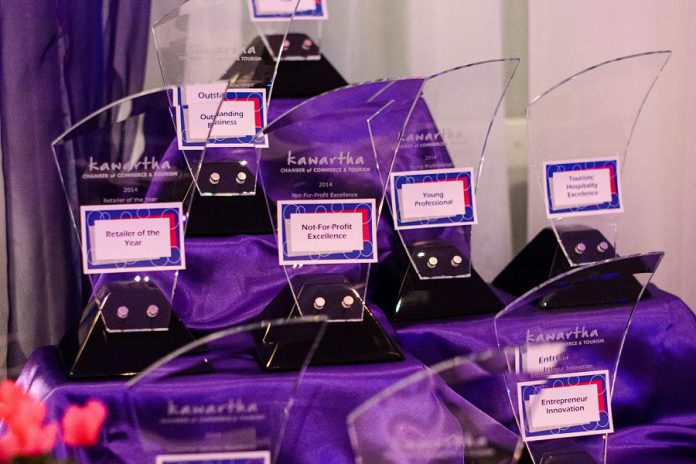 The Kawartha Chamber of Commerce & Tourism has announced the nominees for its 2018 Awards of Excellence. The awards will be presented at the 19th Annual Awards of Excellence and Social Gala, taking place on Thursday, November 8th at Lakefield College School.