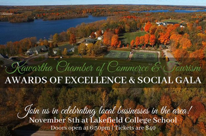 Kawartha Chamber 19th Annual Awards of Excellence and Social Gala,