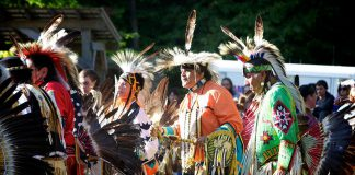 The 2018 annual Curve Lake Pow Wow takes place this weekend (Saturday, September 15th and Sunday, September 16th) at Lance Wood Park in Curve Lake. (Photo: Michael Hurcomb)