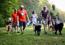 "The ""Strutt Your Mutt"" fun dog walk and fundraiser for the Peterborough Humane Society takes place on Sunday, September 23, 2018 at Beavermead Park in Peterborough. With only a couple of days left before the event, the Peterborough Humane Society needs your help right now to help meet its $25,000 fundraising goal. (Photo courtesy of Peterborough Humane Society)"