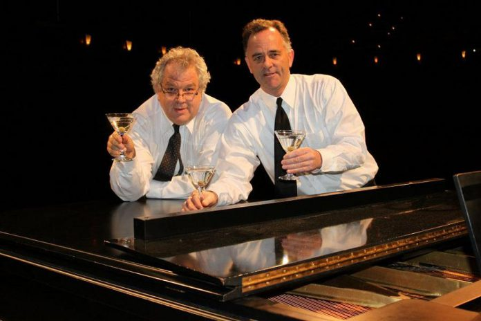 Dan Fewings and Rob Phillips first began bringing comedy and music together in 2009, leading to the creation of The Three Martinis. (Supplied photo)