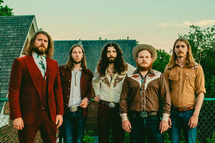 Bailieboro's native son Jimmy Bowskill (second from right) is now a performing member of The Sheepdogs. Jimmy will be joining The Three Martinis reunion before heading off on a European tour with The Sheepdogs. (Publicity photo)