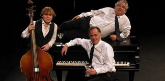 Almost 10 years ago, The Three Martinis (Jimmy Bowskill, Rob Phillips, and Dan Fewings) began delivering a unique musical improv comedy experience to Peterborough audiences. Fewings and Phillips, along with a surprise guest on bass, will reunite for a special 10th anniversary Halloween-themed performance at The Mount Community Centre in Peterborough on October 26, 2018. (Supplied photo)