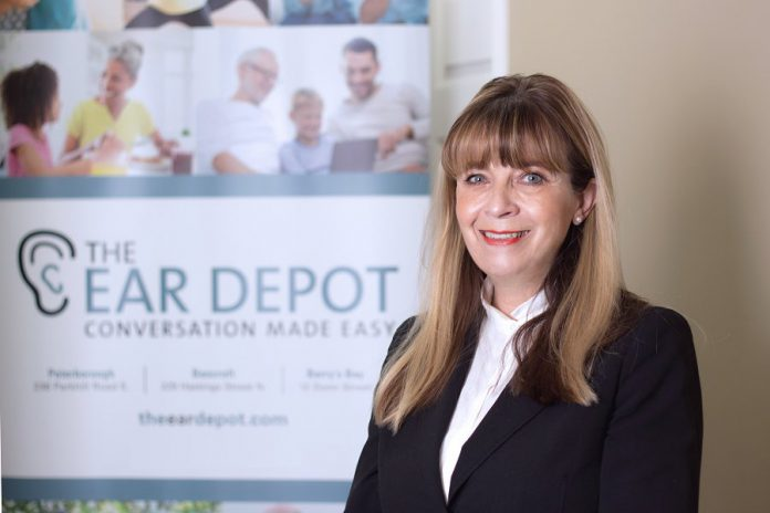 Brenda Cowan is the owner and operator of The Ear Depot, which has three locations in Peterborough, Bancroft, and Barry's Bay. Brenda and her team at The Ear Depot are primarily focused on understanding their clients' hearing health care needs. (Supplied photo)