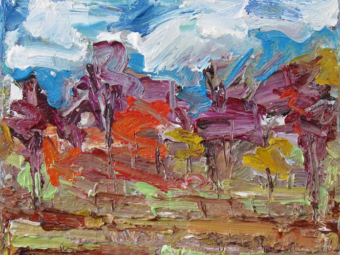 'Marsh and Forest, Late October' by Alex Jack. (Photo courtesy of the Art Gallery of Bancroft)