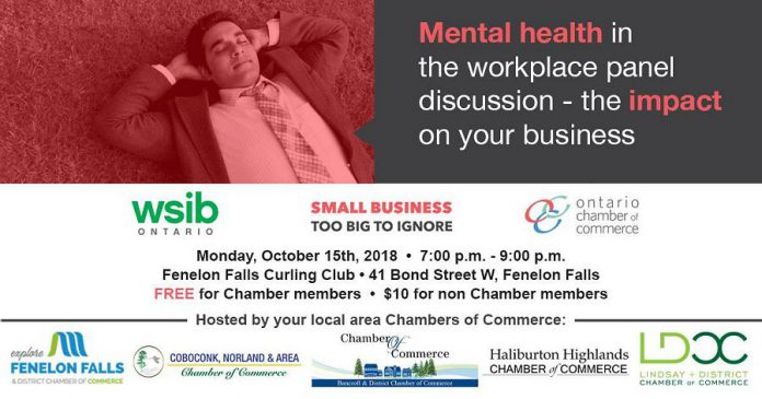 mall Business Week Mental Health and Business Seminar in Fenelon Falls