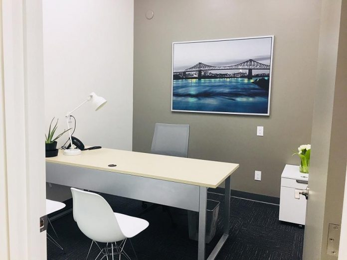 Located at 398 McDonnel Street, Peterborough Business Hub offers office rentals and coworking space. (Photo: Peterborough Business Hub)