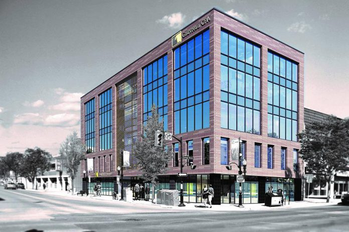 Gauvreau & Associates CPA is relocating to new offices on King Street in downtown Peterborough on November 5, 2018. (Illustration: Gauvreau & Associates CPA)