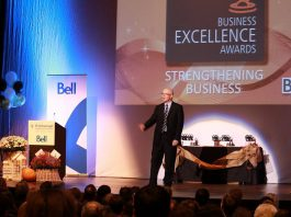 The 2018 Peterborough Chamber of Commerce Business Excellence Awards take place on Wednesday, October 17th at Showplace Performance Centre, one of many events across the Kawarthas during Small Business Week, which takes place this year from October 14th to 20th. (Photo: Peterborough Chamber of Commerce)