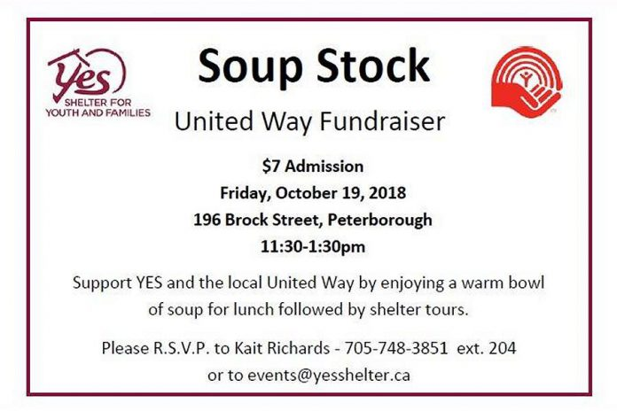 The annual Soup Stock is a fundraiser for the United Way.