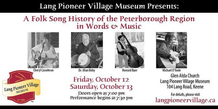 A Folk Song History of the Peterborough Region in Words & Music