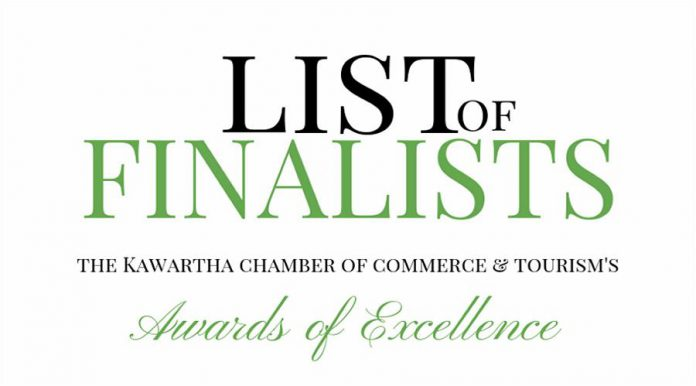 Kawartha Chamber award finalists
