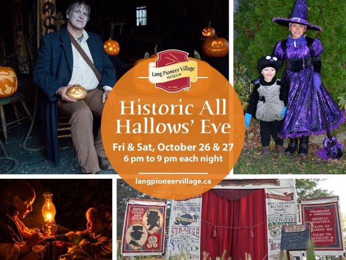 Historic All Hallows Eve at Lang Pioneer Village