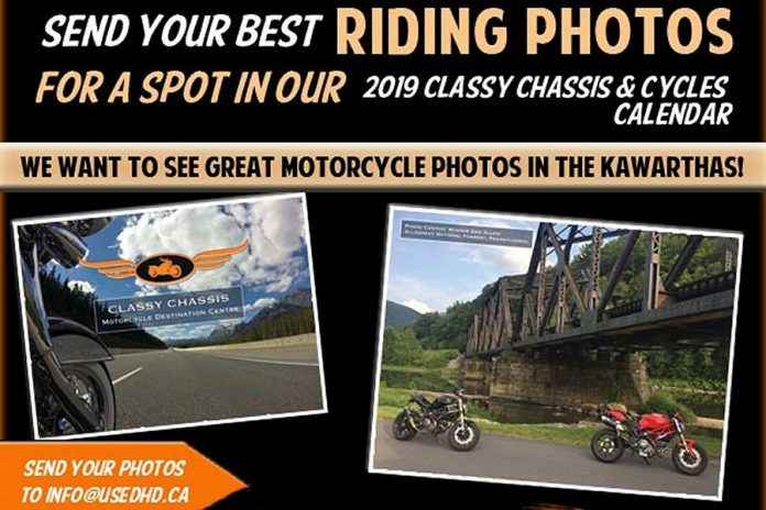 2019 Classy Chassis & Cycles calendar