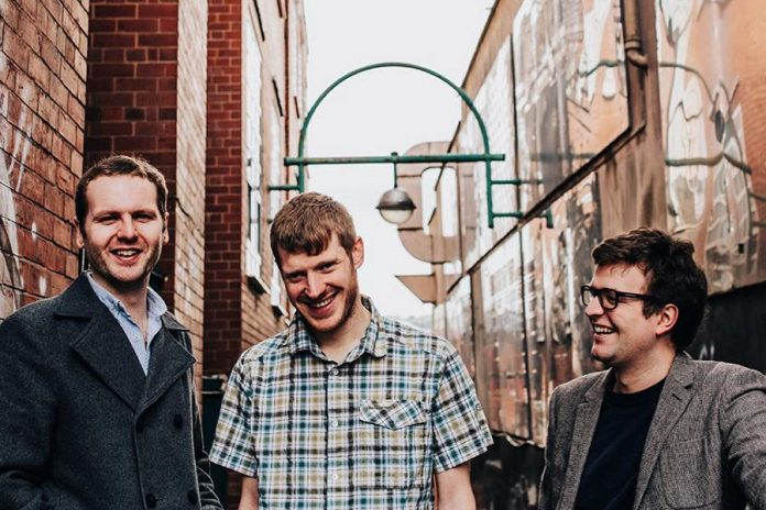 Folk Under the Clock opens its 32nd season with a concert by The Young'uns (Sean Cooney, Michael Hughes, and David Eagle), one of Britain's best loved folk trio, at the Market Hall in Peterborough on October 14, 2018. (Publicity photo)