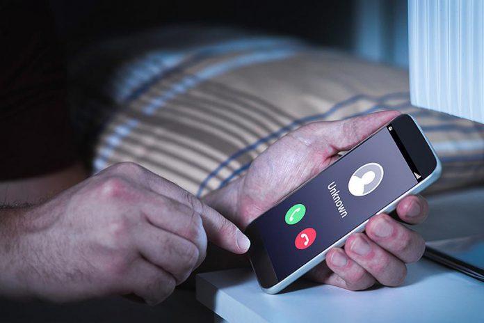Phone scam