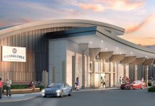Shorelines Casino Peterborough, located at 1400 Crawford Drive in Peterborough, will officially open at 5 p.m. on October 15, 2018. (Illustration: Great Canadian Gaming Corporation)