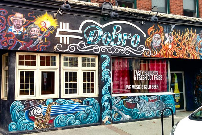 The Dobro at 287-289 George Street North in downtown Peterborough has been closed since September, after owner Kevin Carley decided not to renew his lease. (Photo: Bruce Head / kawarthaNOW.com)