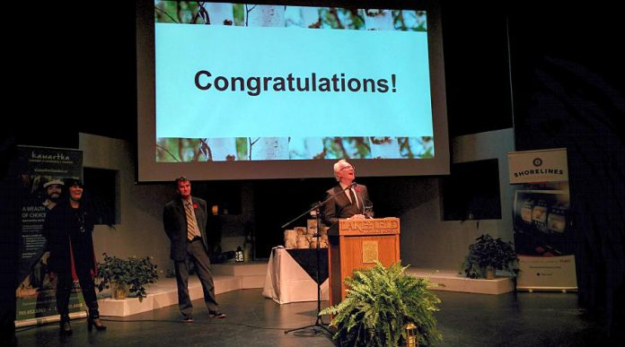 Lakefield Foodland won the Outstanding Business Achievement award. (Photo: Bruce Head / kawarthaNOW.com)