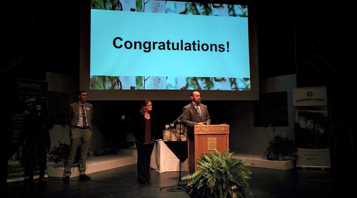 Logan Tree Experts won the Customer Service Excellence award. (Photo: Bruce Head / kawarthaNOW.com)