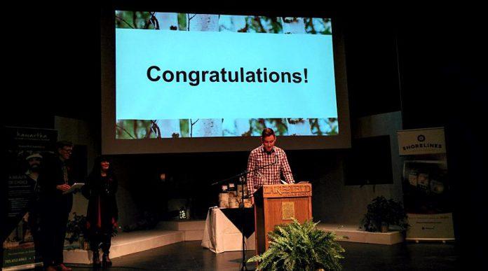 Vetterview won the Entrepreneur Innovation award. (Photo: Bruce Head / kawarthaNOW.com)