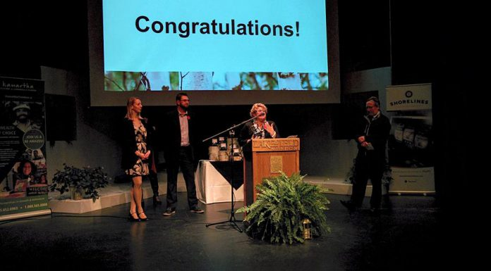 The Peterborough Humane Society won the Not-For-Profit Excellence award. (Photo: Bruce Head / kawarthaNOW.com)