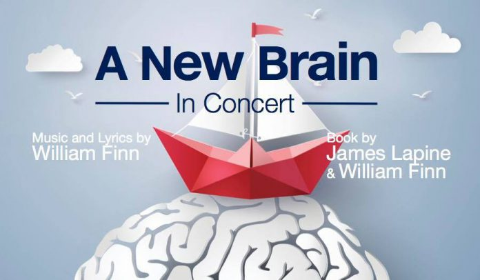 """A New Brain - In Concert"" will be performed at 7:30 p.m. on Saturday, December 1st at the Market Hall in downtown Peterborough. (Graphic: New Stages)"