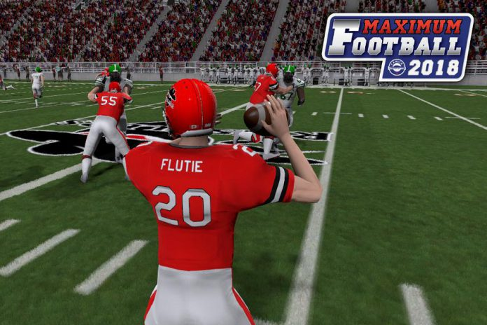 Doug Flutie's Maximum Football will feature Flutie as a playable character and include multiple new game play features. (Screenshot: Canuck Play)