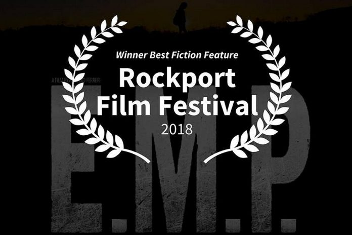 "ocal filmmaker Adriano Ferreri's debut feature film ""E.M.P. 333 Days"" has won the Best Fiction Feature Film award at the Rockport Film Festival in Texas."
