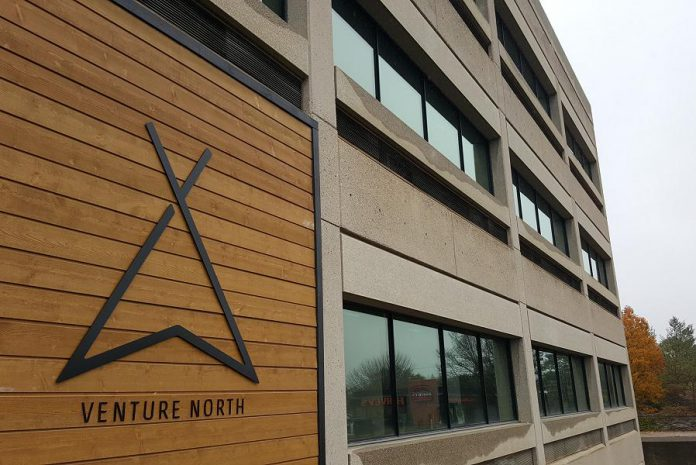 Venture North is a business hub located at 270 George Street North in downtown Peterborough.  (Photo: Jeannine Taylor / kawarthaNOW.com)