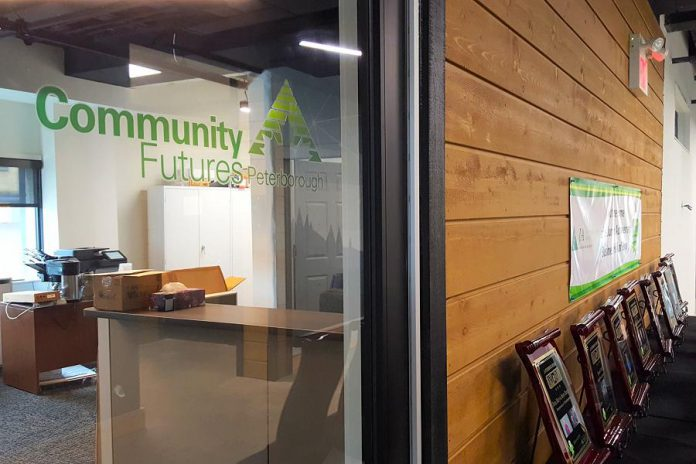 Community Futures Peterborough is now located in the Venture North building in downtown Peterborough, bringing the economic development organization under the same roof as partner organizations including the Innovation Cluster, Community Futures Ontario East, and Peterborough & the Kawarthas Economic Development. This will help Community Futures connect its clients to to the business development services and programs offered at Venture North. (Photo: Jeannine Taylor / kawarthaNOW.com)