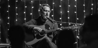 Canadian singer-songwriter Craig Cardiff performs an intimate show at Market Hall Performing Arts Centre in Peterborough on November 11, 2018. (Publicity photo)