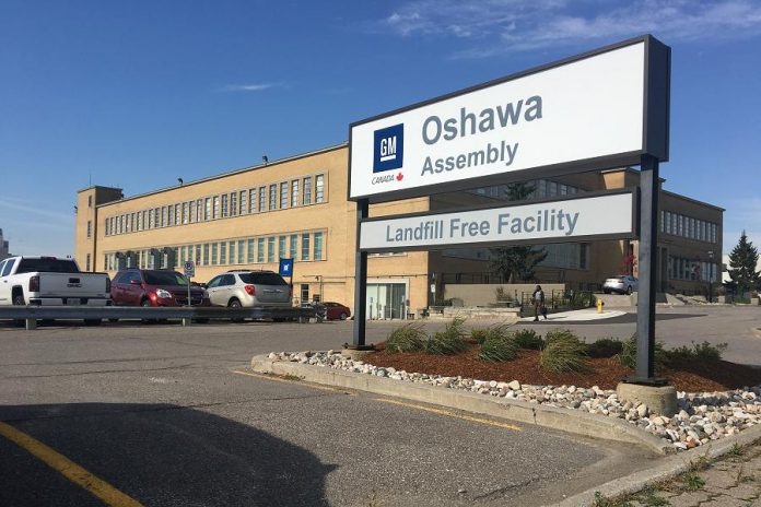 GM's Oshawa assembly plant employs just over 2,600 people, including 2,200 unionized workers. Many of those workers commute from communities outside of Oshawa. (Photo: GM)