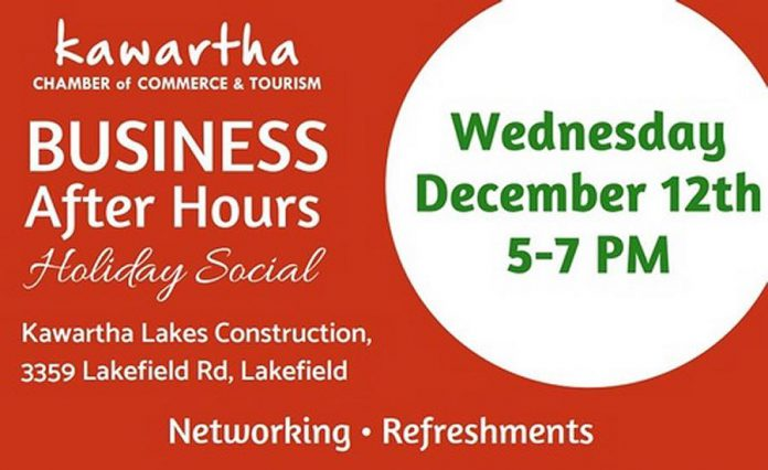 Business After Hours: Holiday Social on December 12th