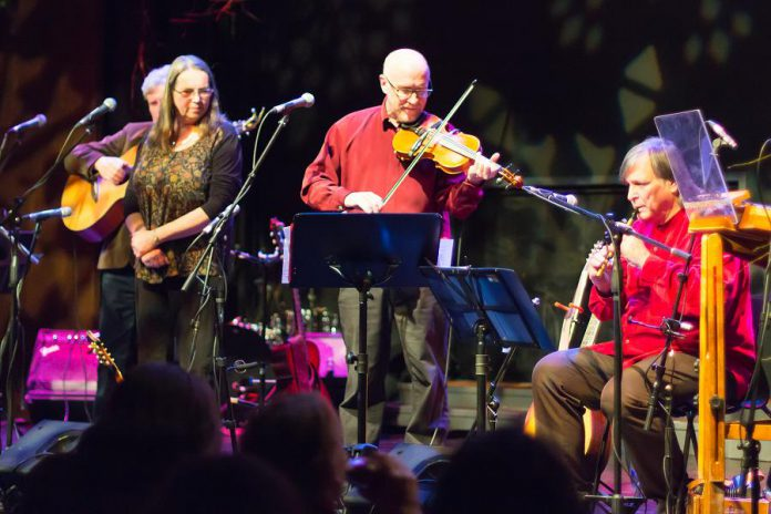 In From The Cold features Christmas carols and seasonal folk songs from Sweden, Scotland, England, and the Appalachians, all presented in a signature Celtic style. (Photo: Linda McIlwain / kawarthaNOW.com)