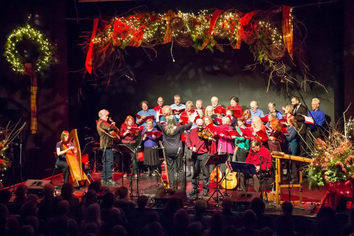 Get in the spirit of the season while supporting youth and families in need at the 19th annual In From The Cold Christmas concert, with performances on Friday, December 7th and Saturday, December 8th, at the Market Hall in downtown Peterborough. (Photo: Linda McIlwain / kawarthaNOW.com)